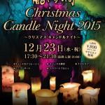龍河洞クリスマスキャンドルナイト2015