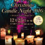 龍河洞クリスマスキャンドルナイト2016