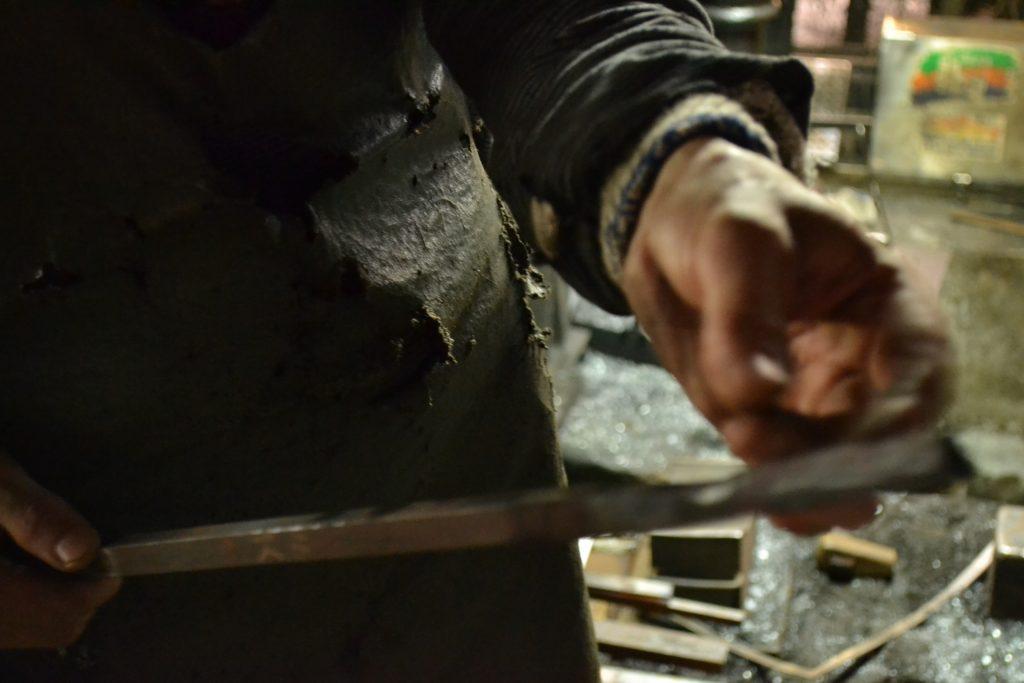 土佐打刃物の鍛造所見学に行ってきました  (*・ω・)ノ ルンルン♪